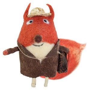Travelling Fox Wooly Friend