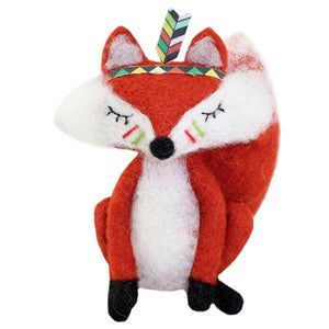 Meditating Fox Wooly Friend