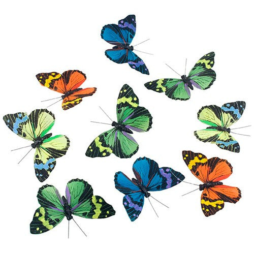"SPRING EVE BUTTERFLY GARLAND 3x78""h"