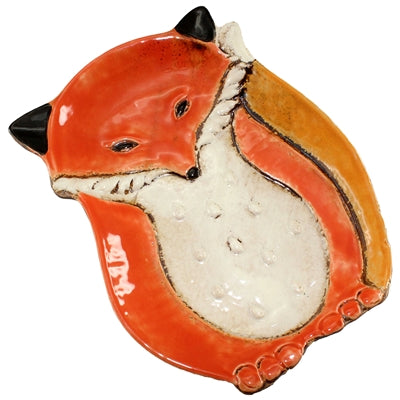 Ceramic Fox Tray