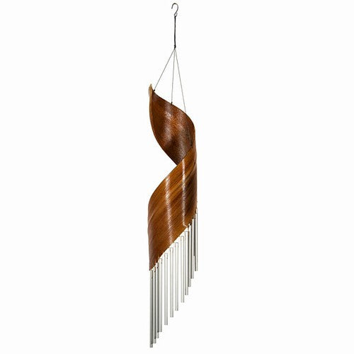 "CALYX SPIRAL METAL TUBE CHIMES 35""'H"
