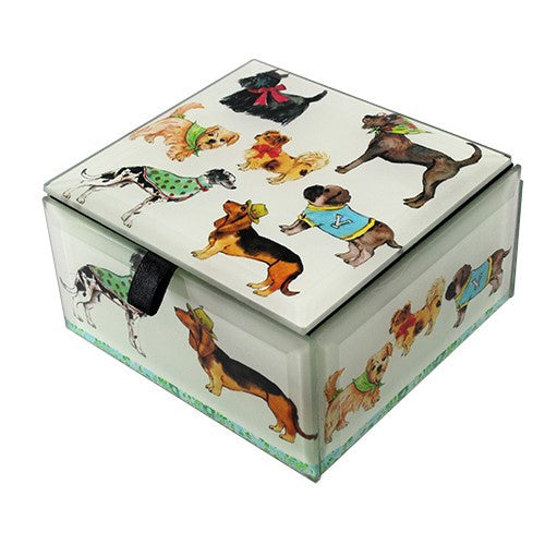 "DOG SHOW GLASS BOX 4x4x2.25""H"