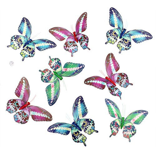Sari Royal Butterfly Garland 8Pc