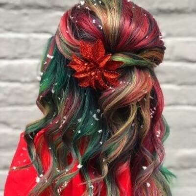 Holiday Hairstyles for New Year...
