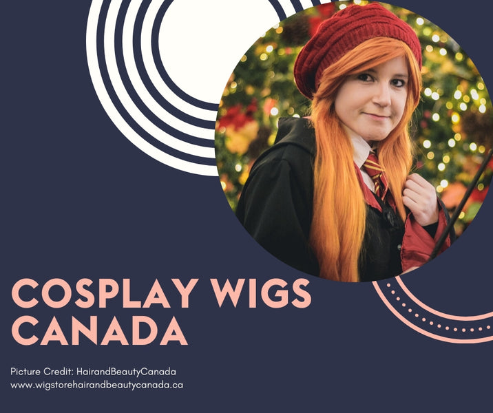 Cosplay Wigs for Cosplayers & Theatre Actors in Canada