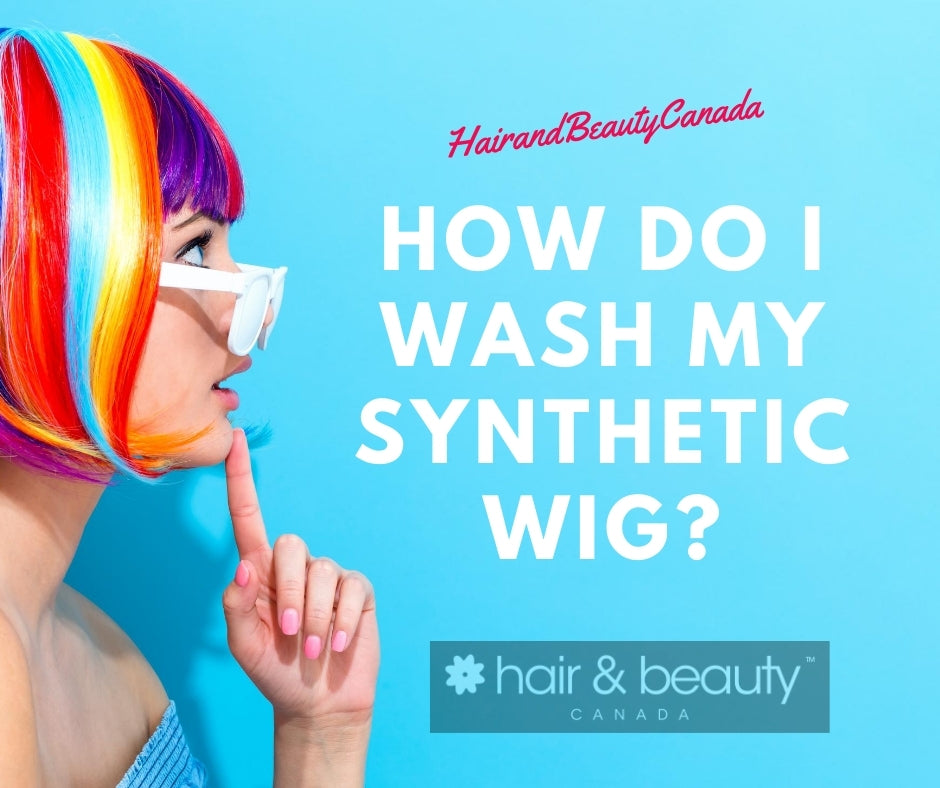 How do I wash my Synthetic Wig?