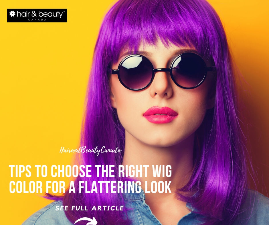 Choosing the Wig Color: All Aspects you Must Know for a Flattering Look!