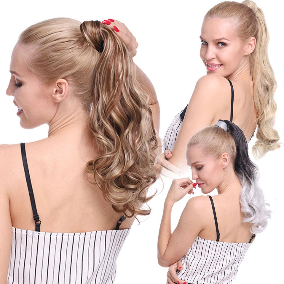 23 Inch Long Pony Tail Hair Extension