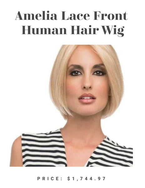 Amelia Lace Front Human Hair Wig