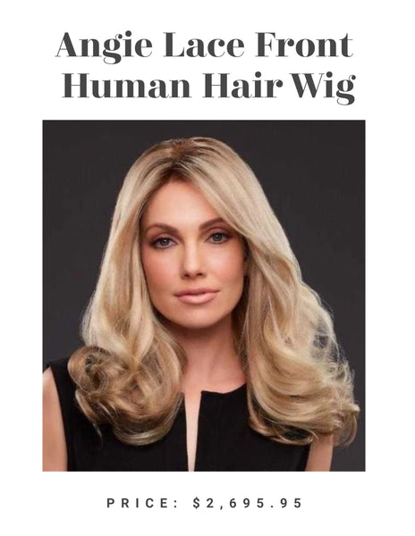 Angie Lace Front Human Hair Wig