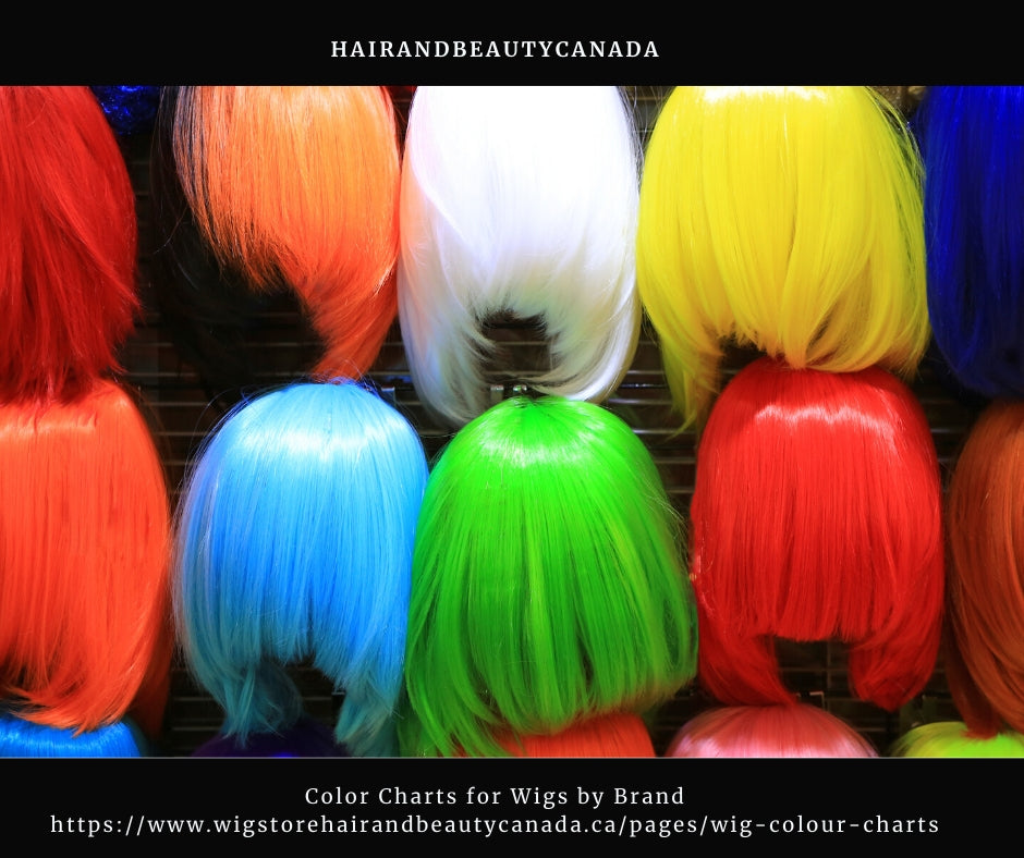 how to choose wig color