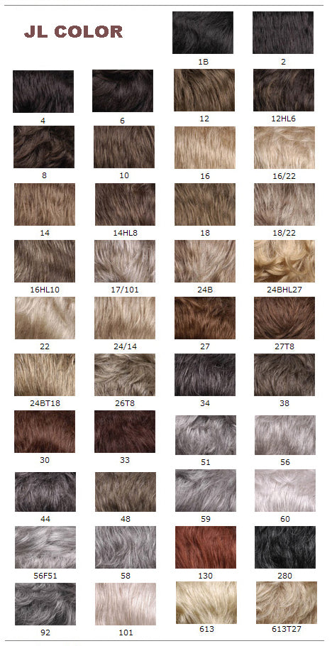 wigs by pierre wigs colours