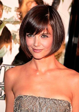 Katie Holmes Inspired Human Hair Wig