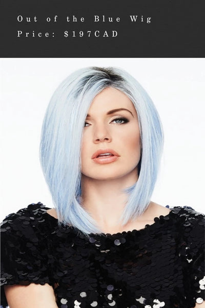 Out of the Blue Wig