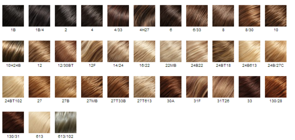 easi hair hairpiece colors