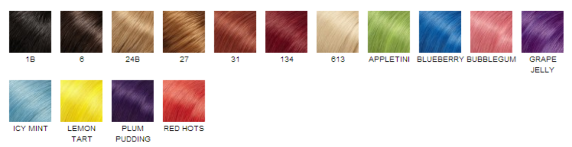 easilites hair colors