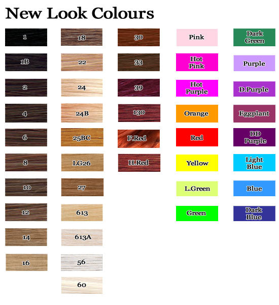 new look synthetic wigs