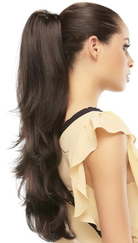 Provocative Reversible Claw Clip Drawstring Hairpiece