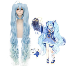 Load image into Gallery viewer, Anime Wig - Japanese Princess Vocaloid Anime Hatsune Miku Cosplay Wig