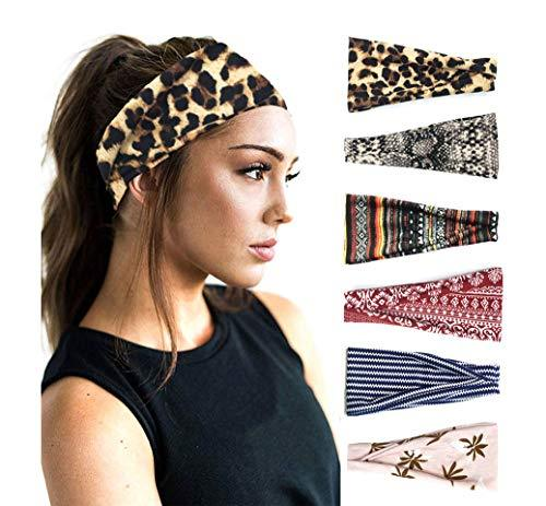 Hair Accessories - Fashion Print Hair Bands Set