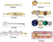 Load image into Gallery viewer, Hair Accessories - Faux Pearl Clips And Pins Hair Barrettes Set