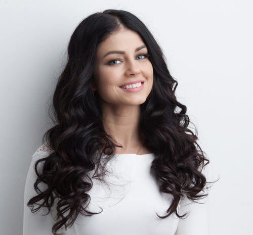Hair Extension - Curly Synthetic Halo Hair Extensions  20