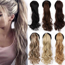 Load image into Gallery viewer, Hair Extensions - 22 Inch Wrap Around Ponytail Extension
