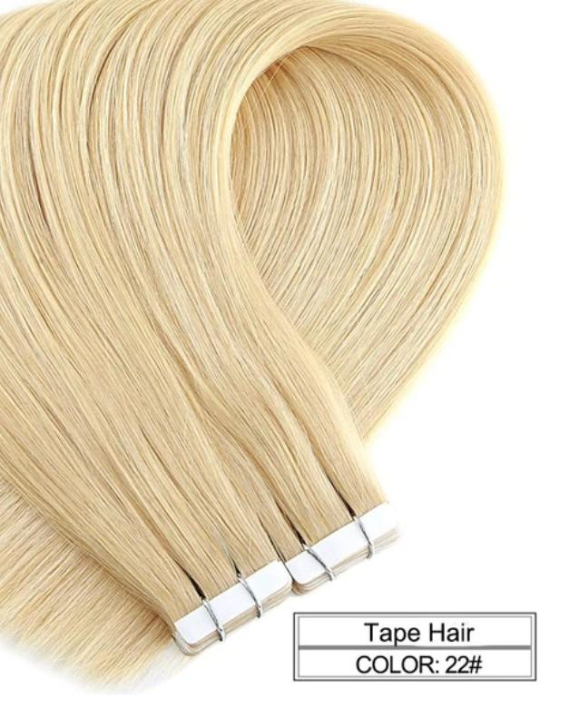 Hair Extensions - Ombre Baylage 10PCS Remy Tape In Human Hair Extensions