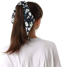 Load image into Gallery viewer, Hair Ribbon - Ponytail Scrunchie Hair Band Set