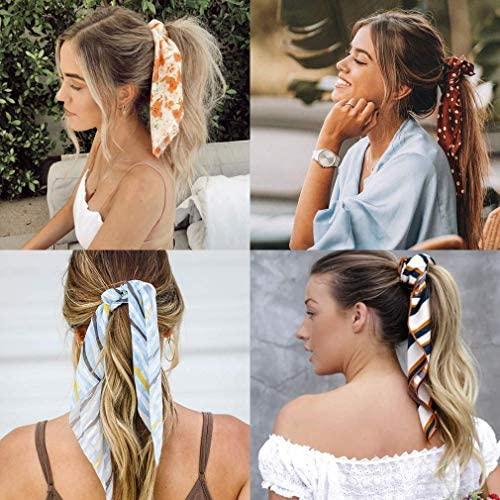 Hair Ribbon - Ponytail Scrunchie Hair Band Set