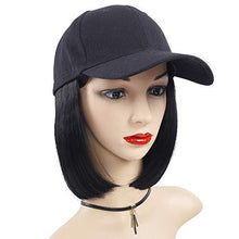 Load image into Gallery viewer, Hairpiece - Baseball Cap Wig With Synthetic Hair Extension