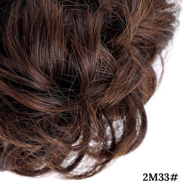 Hairpieces - Messy Hair Bun Chignon Hairpiece