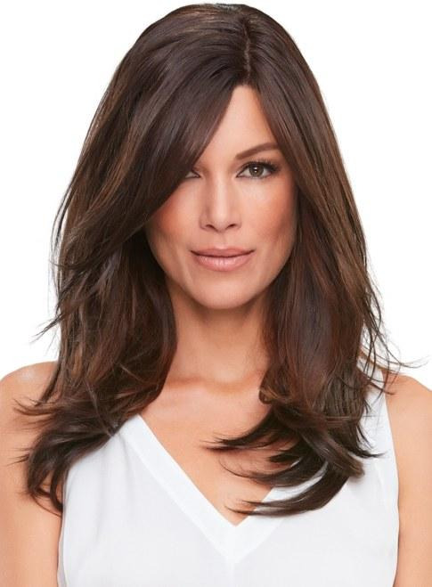 Hairpieces - Top Smart 18 Inch Monofilament Clip In Hair Addition Synthetic Fibre