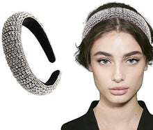 Load image into Gallery viewer, Handmade Crystal & Rhinestone Head HairBand