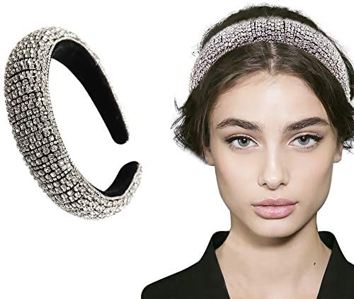 Handmade Crystal & Rhinestone Head HairBand