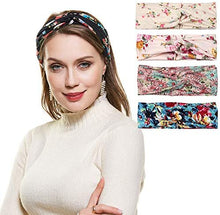 Load image into Gallery viewer, Headband - Head Band Hair Wrap Set - 5pcs