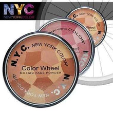 Load image into Gallery viewer, Makeup - Shimmer Face Powder Color Wheel