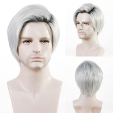 Load image into Gallery viewer, Mens Wig - Zack Thomas Heat Friendly Fibre Mens Wig