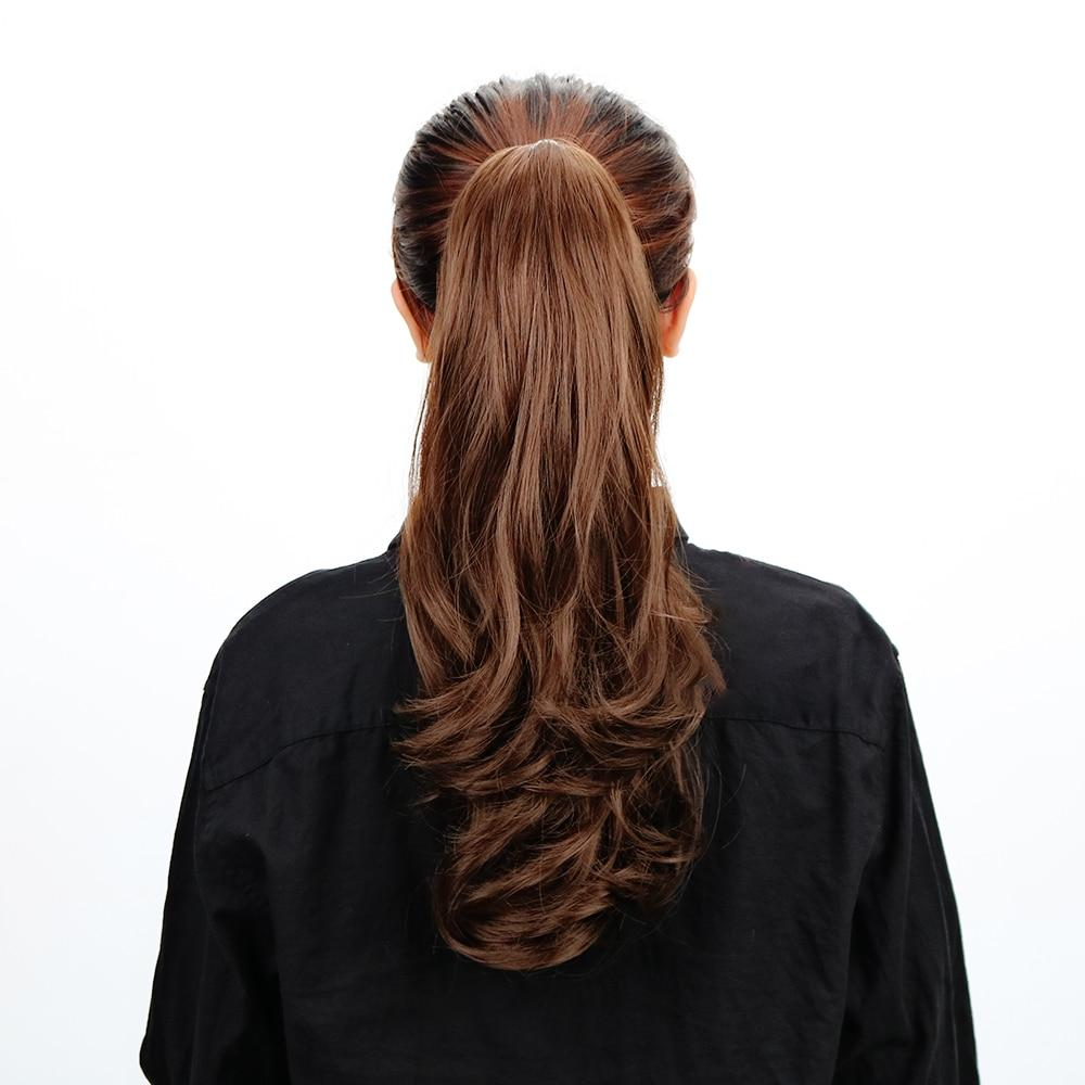 "Ponytail Extension - Long Curly 18""Synthetic Claw Clip On Ponytail Hair Heat Friendly  Hair Piece"