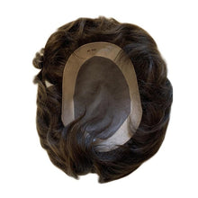 Load image into Gallery viewer, Rick European Human Hair Replacement System Hairpiece Toupee