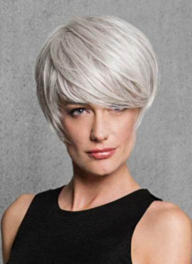 Synthetic Wigs - Angled Cut Wig Hairdo