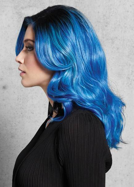 Synthetic Wigs - Blue Waves Wig
