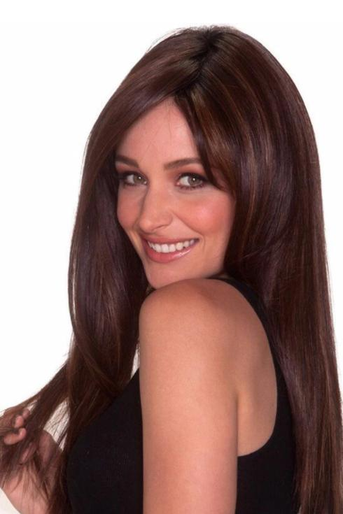 Synthetic Wigs - Straight Press 23 Monofilament Lace Front Wig