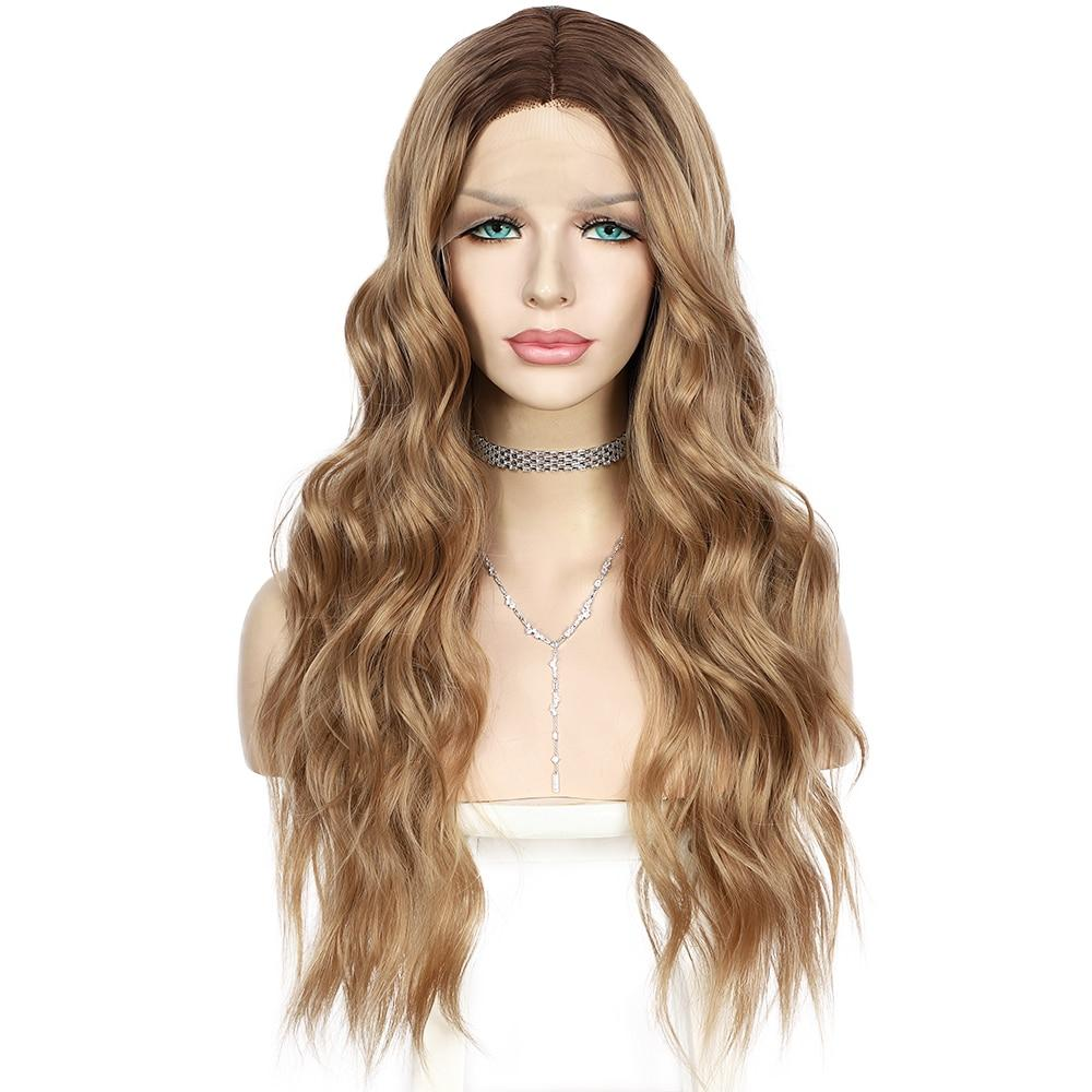 Wig - Catarina Leah Lace Front Ombre Blonde Brown Mix Wig