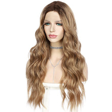 Load image into Gallery viewer, Wig - Catarina Leah Lace Front Ombre Blonde Brown Mix Wig