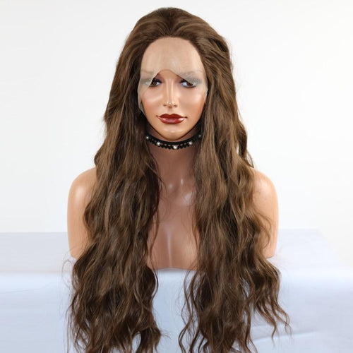 Wig - Extra Long Heat Friendly Wig With Wavy Ends