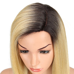 Wig - Genevieve Side Parting 24 Inch Long Straight Wig