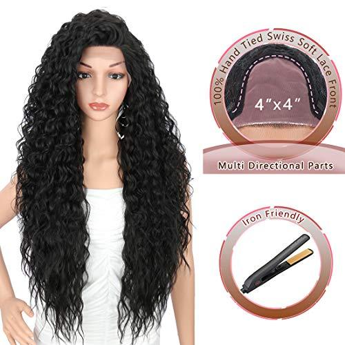 Wig - Multi Directional Parting Curly Heat Resistant Wig