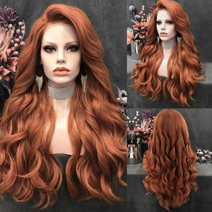 Wig - Star - Extra Long Beach Waves Multi Parting Lace Wig