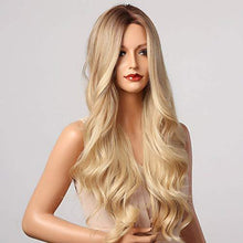 Load image into Gallery viewer, Wig - Trianne Extra Long High Temperature Wig With Waves